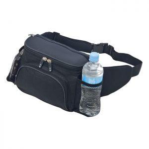 Sportlite-Hiking-Waist-Bum-Bag-Black-Charcoal