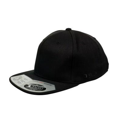 110F-Flexfit-Pro-Formance-Cap-Flat-Brim-Black
