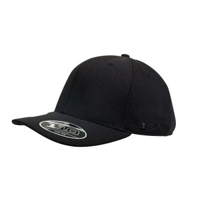 110c-Flexfit-One-Ten-Pro-Formance-Curved-Brim-Black