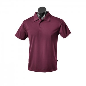Aussie-Pacific-Botany-Mens-Polo-Maroon