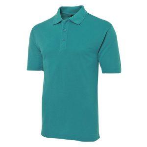 JBs-210-poly-cotton-pique-knit-polo-jade-front