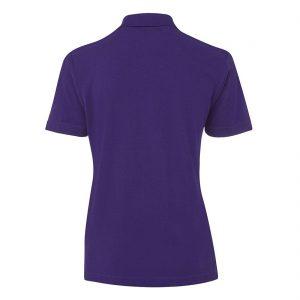 JBs-Ladies-210-Pique-Knit-Polo-Purple-Back