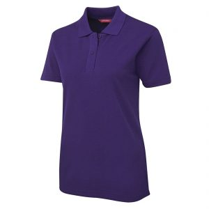 JBs-Ladies-210-Pique-Knit-Polo-Purple-Front