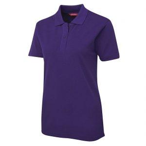 JBs-Ladies-210-Pique-Knit-Polo-Purple-Front