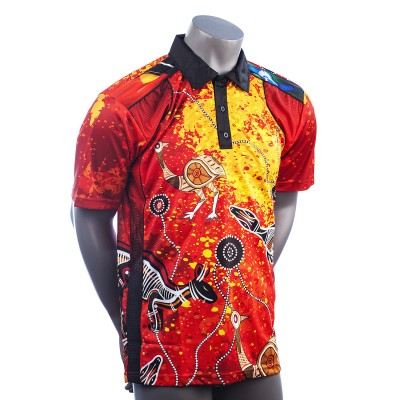 43562-Indigenous-Red-Dust-Mens-Polo