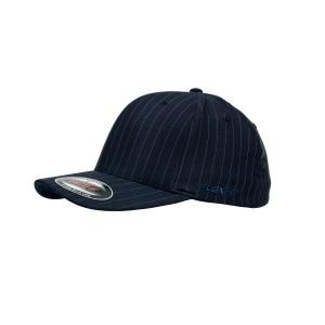 6195p-Flexfit-Cap-Pinstripe-Navy-White