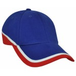 Grace-Collection-Mountain-Cap-Royal-White-Red