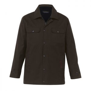 Agri-Station-Tundra-Oilskin-Coat-Brown-Front