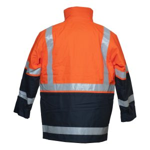 Bisley-5-in-1-Rain-Jacket-BK6975-Back