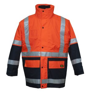 Bisley-5-in-1-Rain-Jacket-BK6975-Front