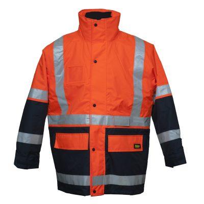 Bisley-5-in-1-Rain-Jacket-BK6975-Front