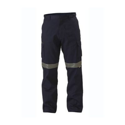 bisley-8-pocket-taped-cargo-pant-Navy