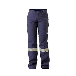 Bisley-ladies-Taped-Drill-Work-Pant-Navy