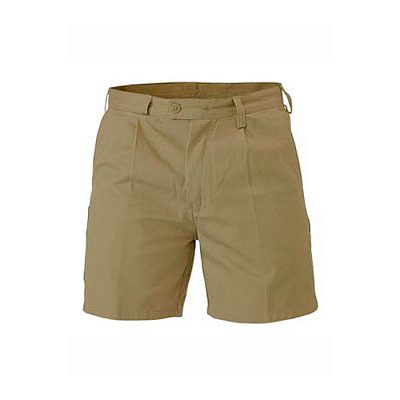 Bisley-Original-Mens-Drill-Short-Khaki