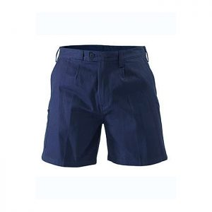 Bisley-Original-Mens-Drill-Short-Navy