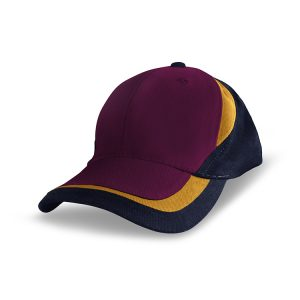 Grace-Workzone-Cap-Maroon-Aussie-Gold-Navy