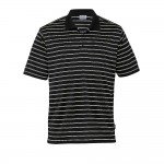 Fairway-Mens-striped-gear-for-life-polo-Black-Stone