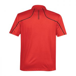 Stormtech-Mens-Prism-Performance-Polo-True-Red-Black-Back
