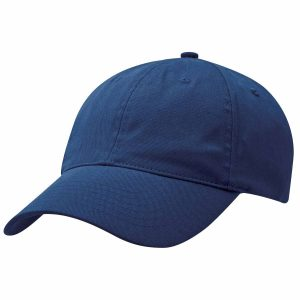 PET-spun-fabric-cap-leg3830-Navy-Model