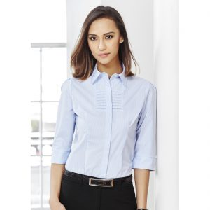 Ladies-corporate-shirt-Berlin-Style-3-4-Sleeve-Model