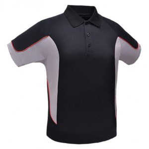 Corbel-Recyled-PET-polo-Short-Sleeve-Black-Red-Grey