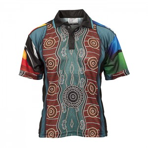 Indigenous-Mens-Polo-42896-front