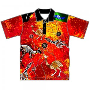 Red-Dust-Youth-Polo-Front