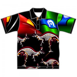 Kangaroo-Youth-Polo-Front