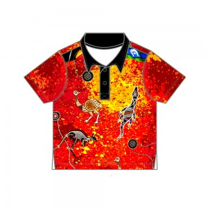 Red-Dust-Infant-Polo-Front