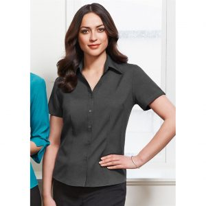 Ladies-oasis-short-sleeve-shirt-Modeled