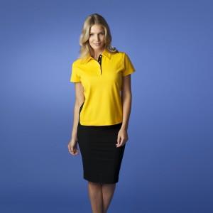 Aussie-Pacific-Paterson-Lady-Polo-Gold-Black-model