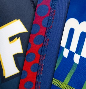 quality fabrics and logos - x3